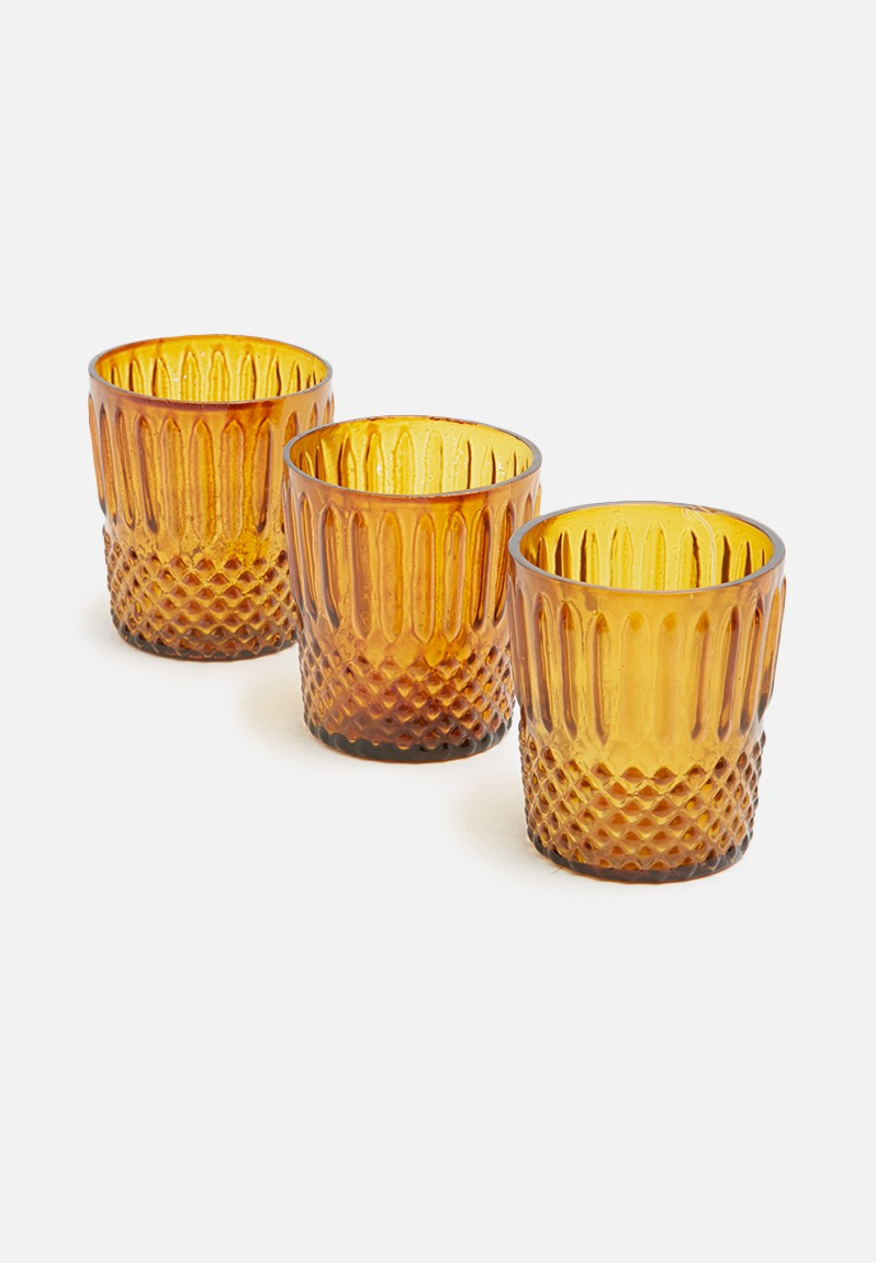 Giuliana glass votive